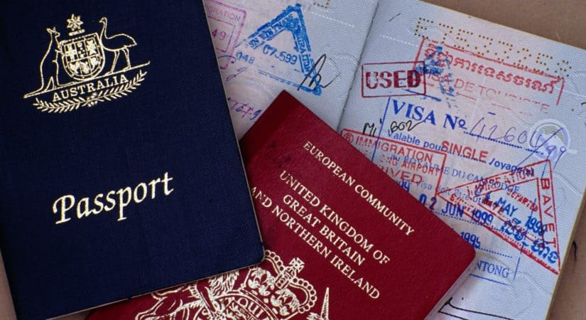 Britische Staatsbürger ein Visum für Australien