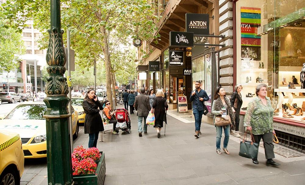Einkaufen in Melbourne