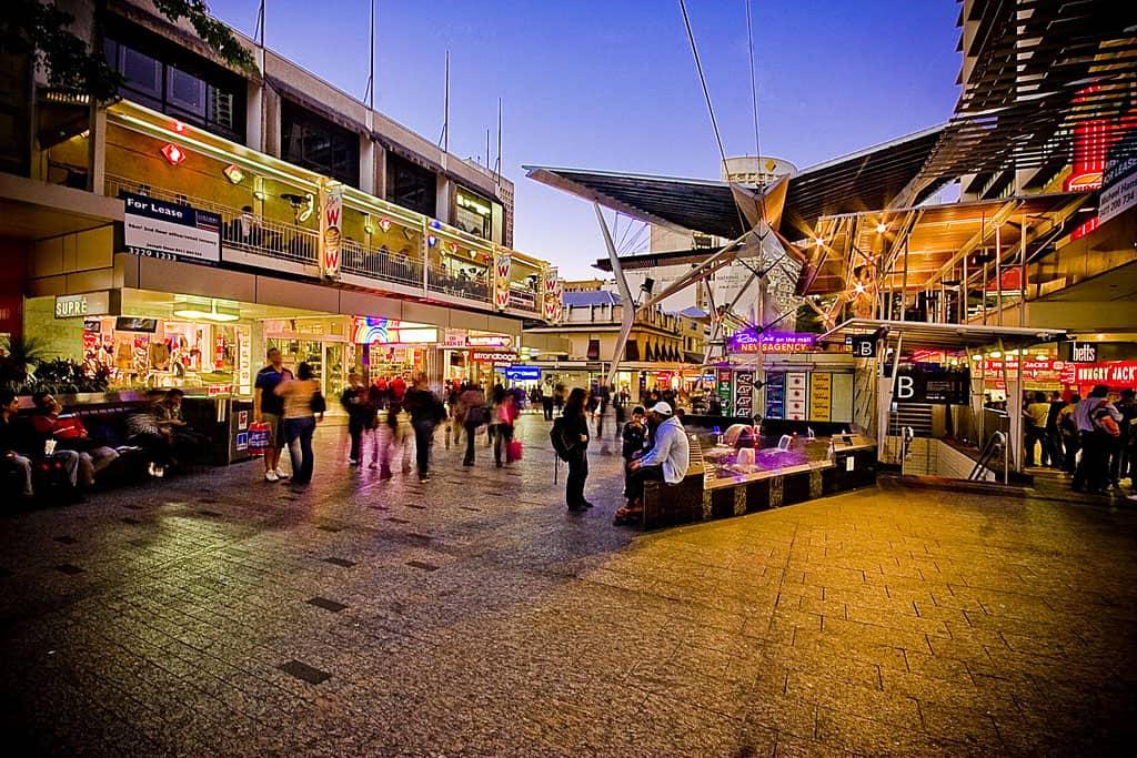 Einkaufen in Brisbane