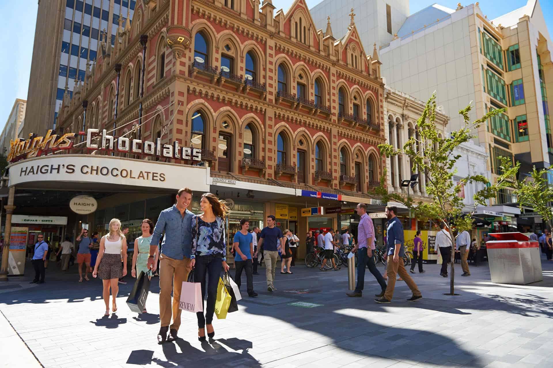 Einkaufen in Adelaide