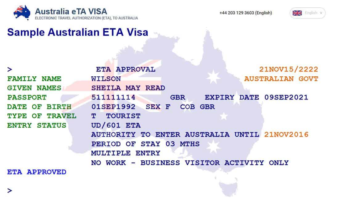 How To Apply For Australian Visa Online Eta Step By Step