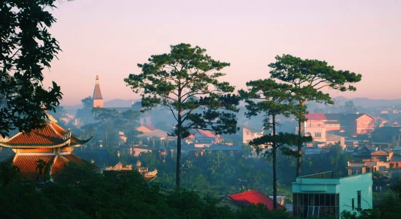 Dalat the romantic city