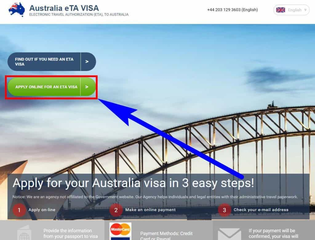 Australian visa for Canadians