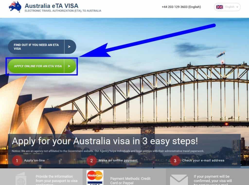 Australian visa for US citizens