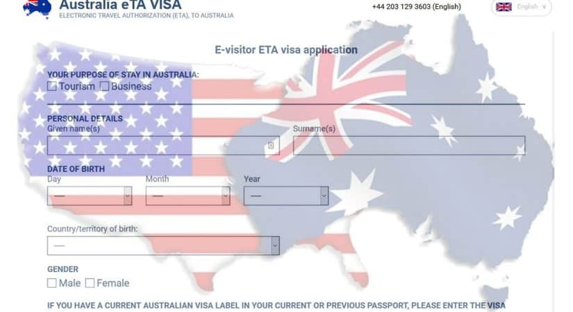 Australian visa for US citizens