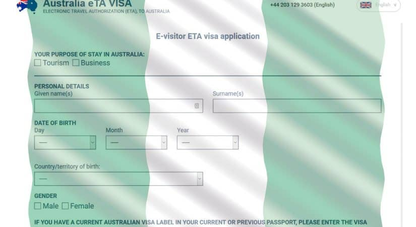 Australian Visa Application in Nigeria