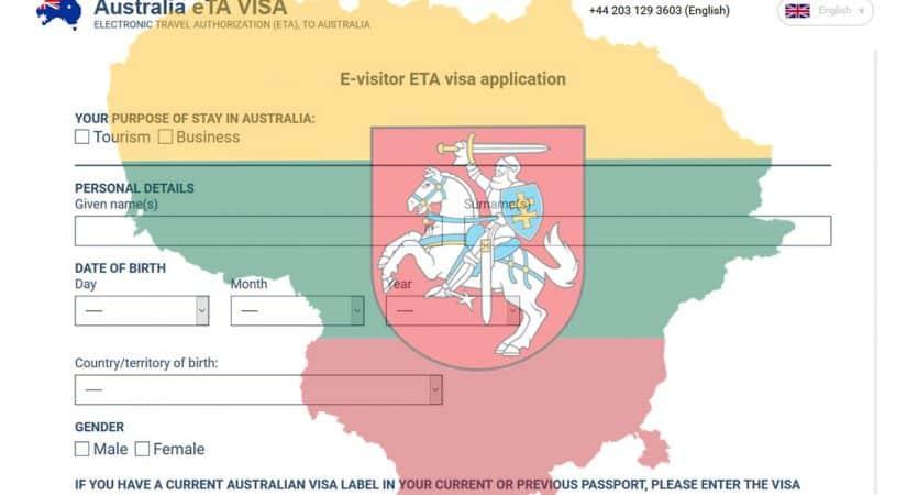 Australian Visa for Lithuanian Citizens