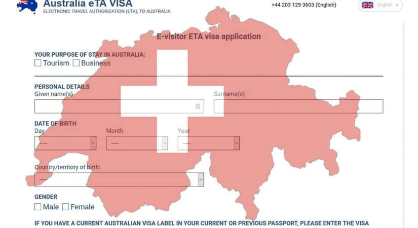 Australian Visa For Swiss Citizens