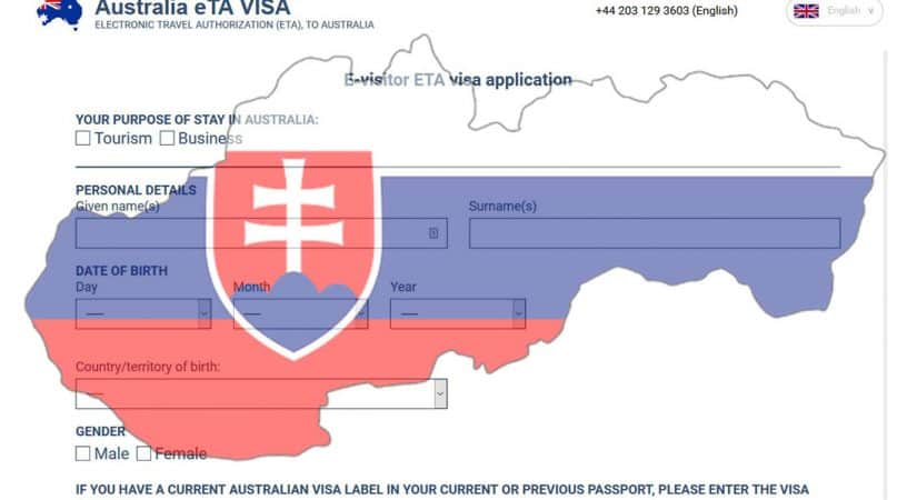 Australian Visa for Slovak citizens